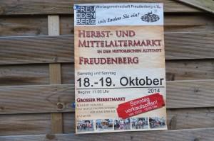 Markt in Freudenberg