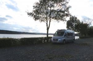 Camperplaats in Delecke aan de Mohnesee
