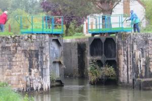 Sluis in het Canal de Nivernais