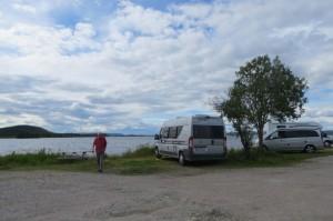 Parkeerplaats Laponia
