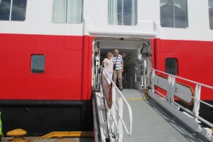 Hurtigruten schip