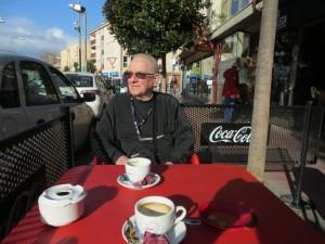 Koffie in Palamos