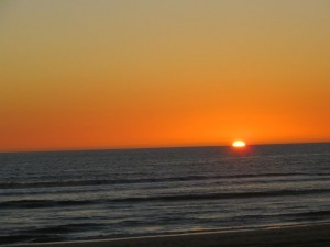 zonsondergang Matalascanas