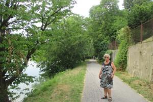 Langs de rivier Drau